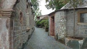 Dorf oldtown Stockbild