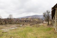 Dorf Poiana Aiudului Lizenzfreie Stockfotos