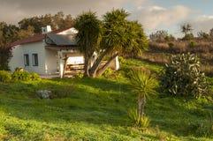 Dorf-Portugal-Ansicht über Ranch stockfotos