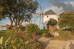 Dorf-Portugal-Ansicht über Ranch stockfotografie