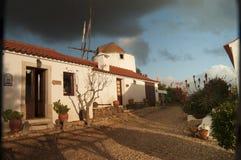 Dorf-Portugal-Ansicht über Ranch stockbilder