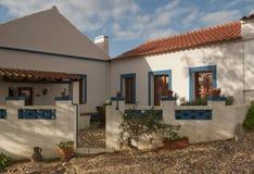 Dorf-Portugal-Ansicht über Ranch lizenzfreie stockbilder