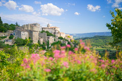 Dorf in Provence Stockbilder