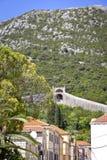 Dorf Ston und die Wände, Kroatien Stockbild