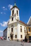 Dorf Szentendre in Ungarn Stockbilder