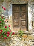 Dorf-Tür Stockbild