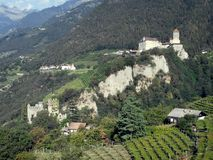 Dorf Tirol Fotografia de Stock