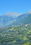 Dorf Tirol,Schenna,Merano,South Tyrol,Italy Royalty Free Stock Photos