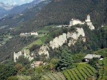 Dorf Tirolo Fotografia Stock