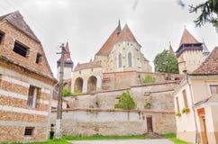 Dorf in Transilvania Stockfotografie