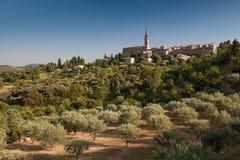 Dorf von Banne, Frankreich Lizenzfreie Stockbilder