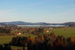 Dorf von Bayern in Deutschland Lizenzfreie Stockfotos