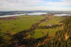 Dorf von Bayern in Deutschland Stockfoto