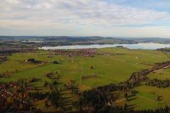 Dorf von Bayern in Deutschland Lizenzfreie Stockbilder