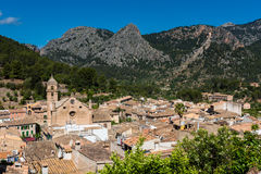 Dorf von Bunyola Mallorca Stockfotos