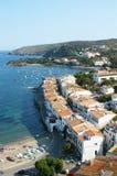 Dorf von Cadaqués Stockfotos