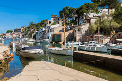 Dorf von Cala Figuera Mallorca Lizenzfreies Stockbild