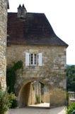 Dorf von Castelnaud Lizenzfreie Stockbilder