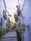Dorf von Frigiliana Spanien Stockfotos