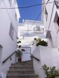 Dorf von Frigiliana Spanien Lizenzfreie Stockbilder