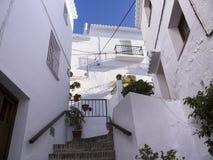 Dorf von Frigiliana Spanien Lizenzfreie Stockfotografie
