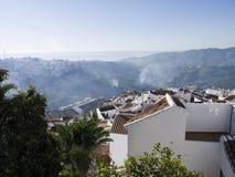 Dorf von Frigiliana Spanien Lizenzfreie Stockfotos
