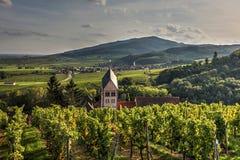 Dorf von Itterswiller Stockfoto