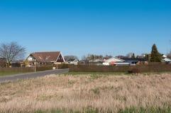 Dorf von Kastrup in Dänemark Stockbilder