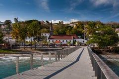 Dorf von Le Diamand, Martinique Stockfotos