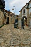 Dorf von Lefkara, Zypern lizenzfreies stockbild