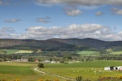 Dorf von Lumsden in Schottland Lizenzfreies Stockfoto
