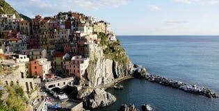 Dorf von Manarola Italien Stockfotos