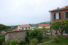 Dorf von Montemarcello stockfoto