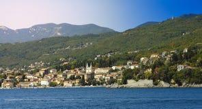 Dorf von Opatija Lizenzfreie Stockbilder