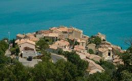 Dorf von Provence Lizenzfreie Stockfotos
