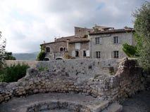 Dorf von südlich von Frankreich, Borme-les Mimosen Lizenzfreies Stockfoto