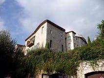 Dorf von südlich von Frankreich, Borme-les Mimosen Stockfotografie