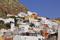 Dorf von San Andres bei Tenerife Lizenzfreie Stockfotos