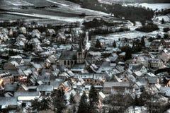 Dorf von Soultz-les bains Lizenzfreies Stockbild