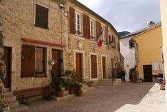 Dorf von St. Agnes lizenzfreies stockbild