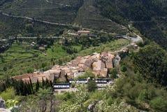 Dorf von St. Agnes Stockbilder