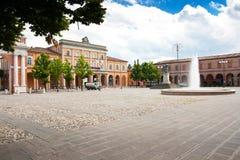 Dorf von Str. Arcangelo, Italien lizenzfreie stockfotos