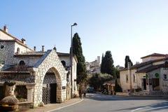 Dorf von Str. Paul Lizenzfreie Stockfotos