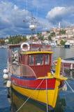 Vrsar, adriatisches Meer, Istria, Kroatien Lizenzfreies Stockfoto