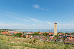 Dorf-Westen-Terschelling in den Niederlanden Stockfotos