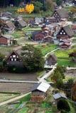 Dorfansicht stockfoto
