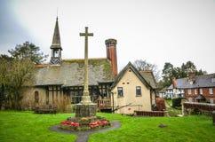 Dorfgebäude Godstone Surrey Lizenzfreie Stockfotos