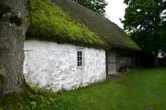 Dorfhaus Lizenzfreies Stockfoto