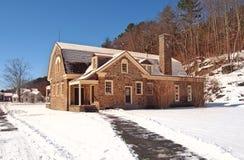 Dorfhaus Stockfoto