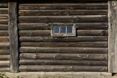 Dorfhausmauer Lizenzfreie Stockbilder